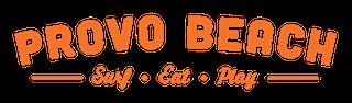 Provo Beach Logo